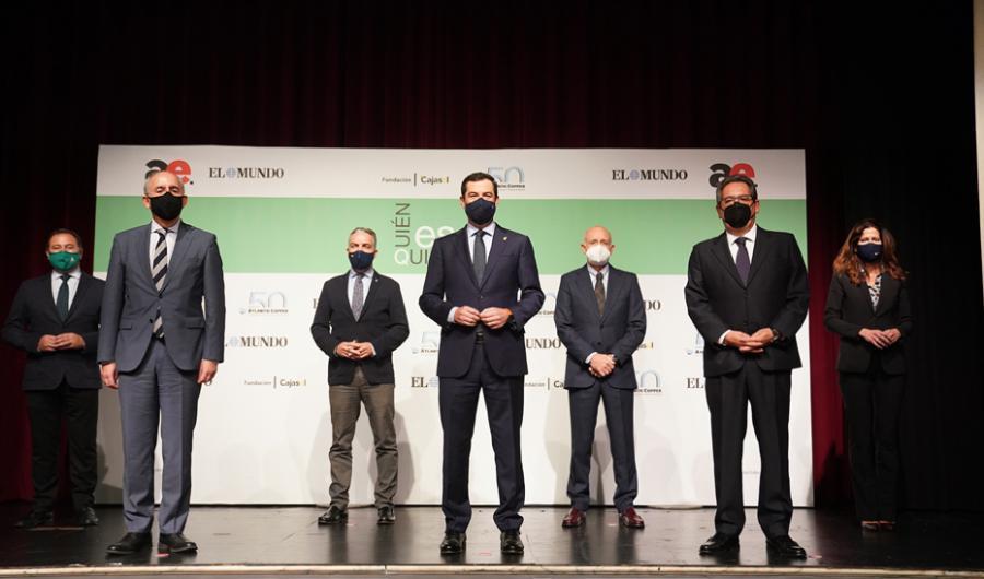 Actualidad Actualidad Moreno destaca la fortaleza y el potencial de Andalucía para convertirse en un exponente de crecimiento de los más grandes de España