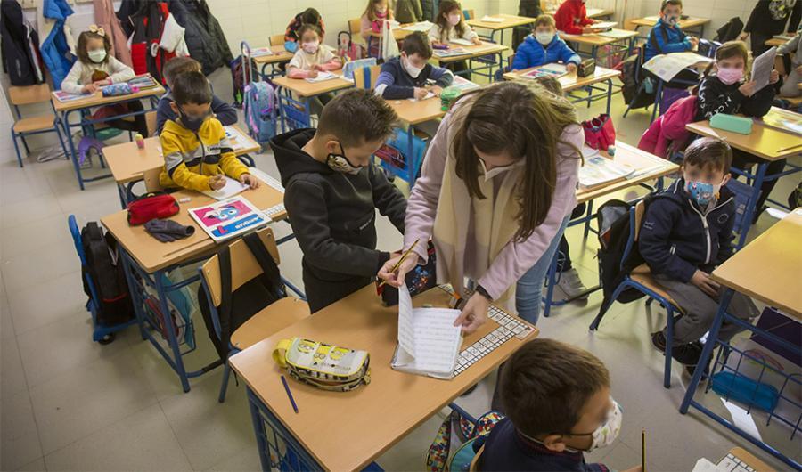 Actualidad Actualidad La lucha contra el abandono escolar en las zonas desfavorecidas se libra con el programa 'Impulsa'