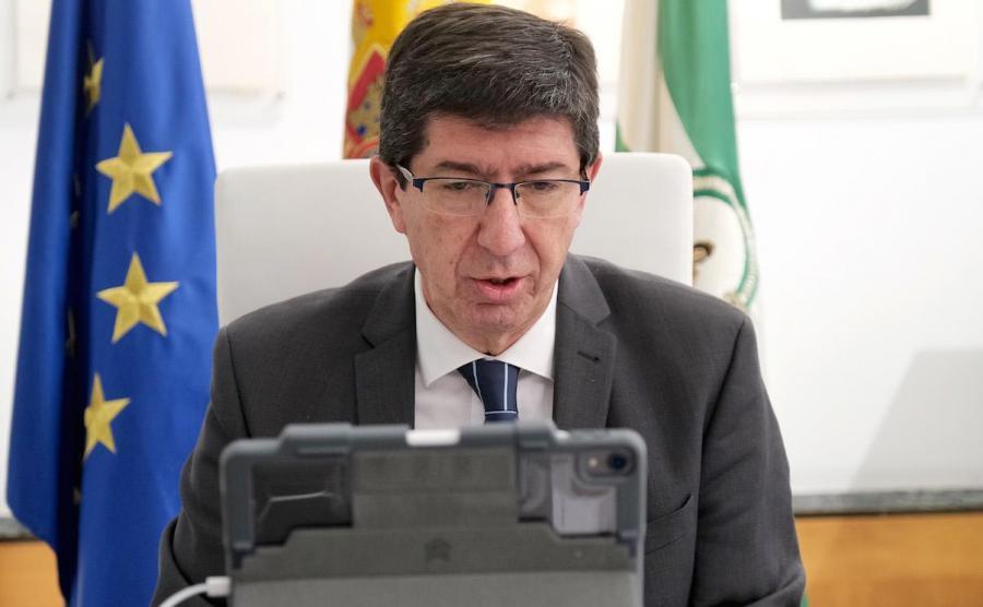 Actualidad Actualidad Marín ve cumplido ya más del 80% del pacto PP-Cs y no le incomodan los acuerdos con Vox