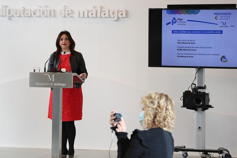 Malaga Malaga El presupuesto de la Diputación para este año acelera la Revolución Verde en la provincia