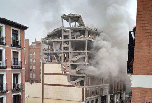 Actualidad Actualidad Una explosión en una residencia sacerdotal en pleno centro de Madrid deja tres muertos y una decena de heridos