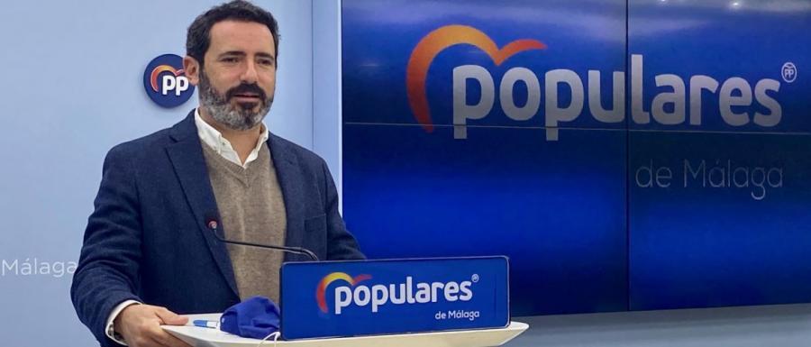 """Malaga Malaga PP: """"El nuevo Gobierno andaluz ha demostrado que el problema no era Andalucía, sino el PSOE"""""""