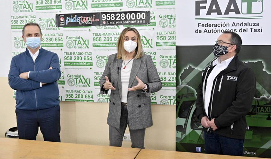 Actualidad Actualidad La consejera Marifrán Carazo anuncia al sector la aprobación del decreto de modernización del taxi
