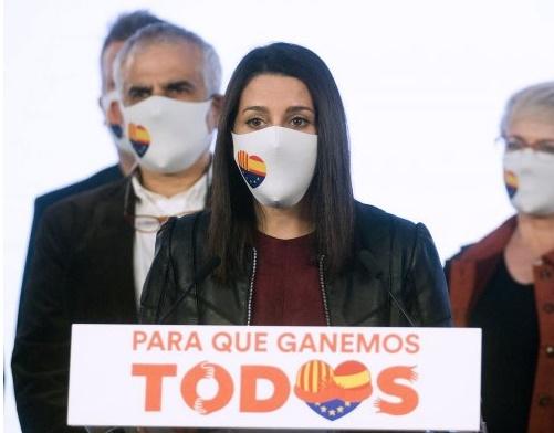 Actualidad Actualidad Arrimadas descarta dimitir o destituir a otros dirigentes de Ciudadanos tras la debacle electoral