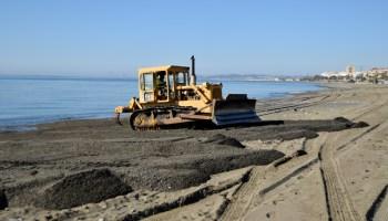 Estepona Estepona El Ayuntamiento de Estepona inicia un plan de actuaciones para poner a punto las playas antes de Semana Santa