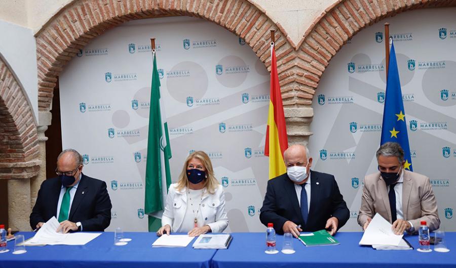 Marbella Marbella Junta y Ayuntamiento de Marbella firman un protocolo para impulsar infraestructuras sanitarias en Marbella