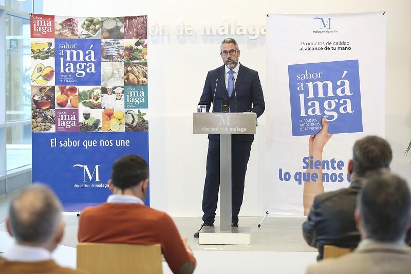Malaga Malaga 'Sabor a Málaga' participa en el Salón H&T con el stand más grande del evento