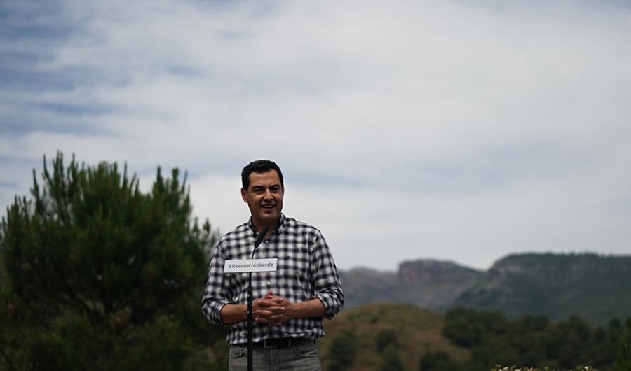 """Actualidad Actualidad Moreno: """"Andalucía va a ser la región referencia de España y Europa en protección natural con la Revolución Verde"""""""