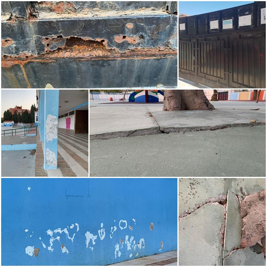 Torremolinos Torremolinos El PP reclama que se acometan los trabajos urgentes de mantenimiento en el CEIP La Paz