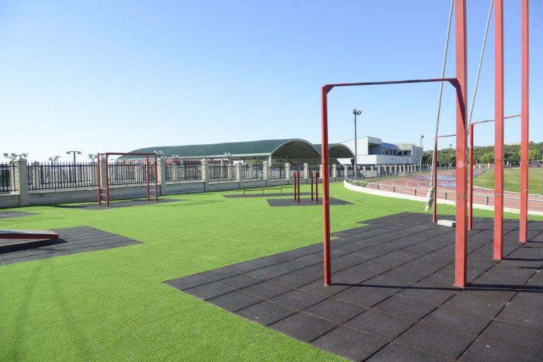 Torremolinos Torremolinos El Patronato Municipal de Deportes de Torremolinos remodela la zona de work out de la pista de atletismo