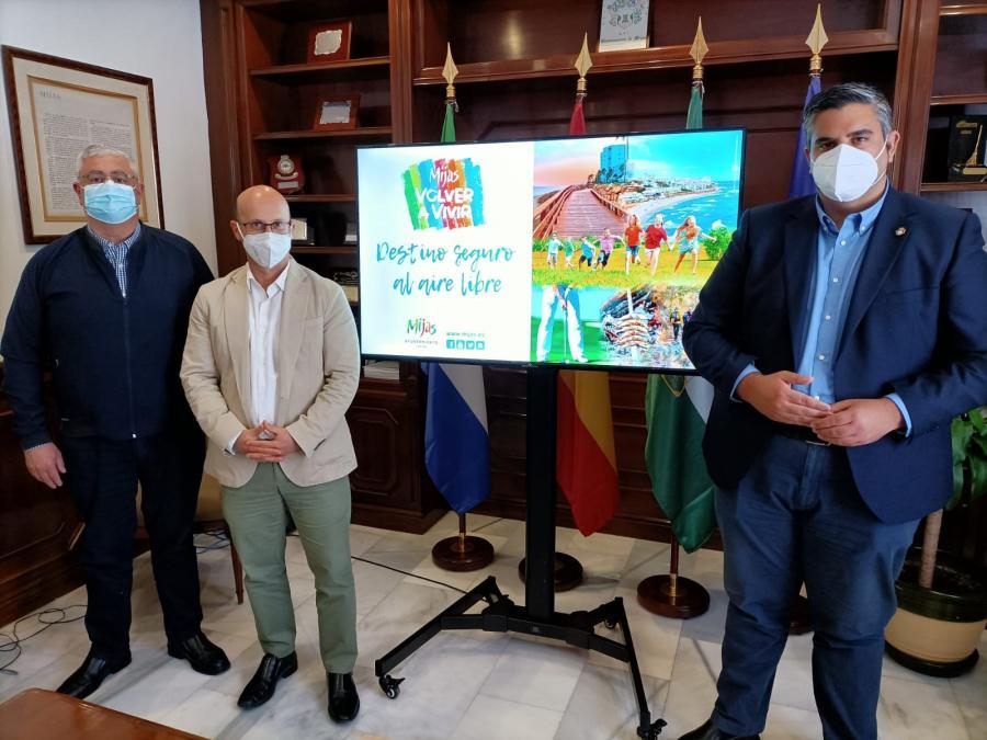 Mijas Mijas 'Mijas, destino seguro al aire libre' aterriza en FITUR la próxima semana