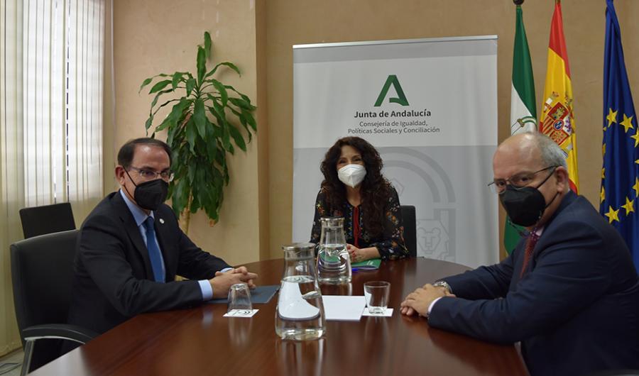 Actualidad Actualidad Junta y empresarios refuerzan su colaboración para impulsar el ámbito social del tejido productivo andaluz