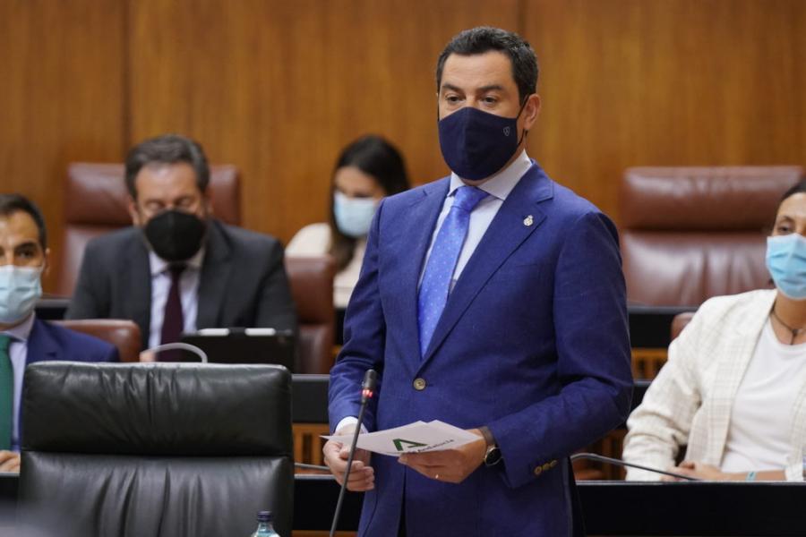 Actualidad Actualidad Moreno anuncia la tramitación de las ayudas con un coste de 75 millones que beneficiarán a más de 357.000 trabajadores que han estado en ERTE