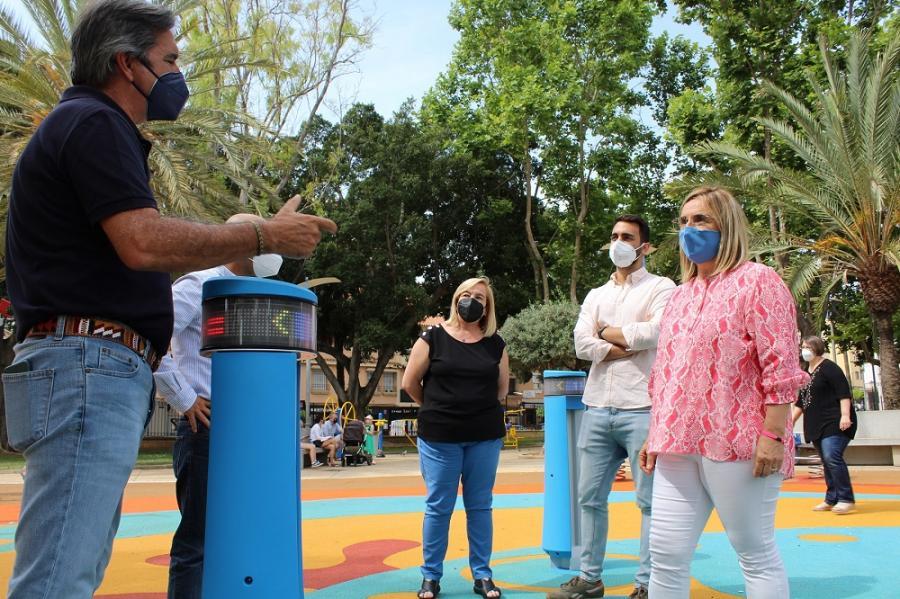 Fuengirola Fuengirola Fuengirola estrena el primer juego interactivo infantil de la provincia en el parque de España