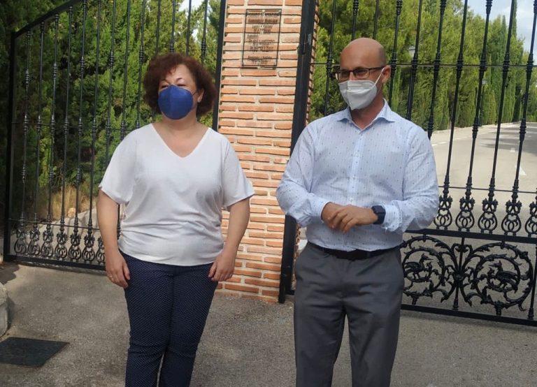 Mijas Mijas Los Servicios Operativos reforman las salas velatorio del Cementerio Municipal de Mijas Pueblo