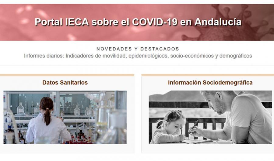 Actualidad Actualidad El portal sobre Covid de la Junta supera los 40 millones de visitas desde su puesta en marcha