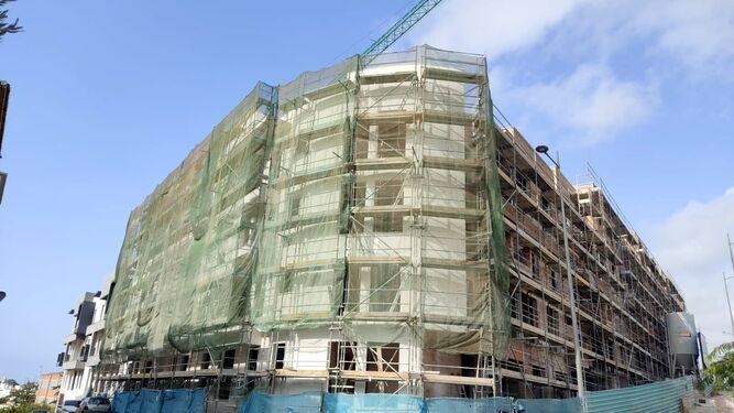 Estepona Estepona Las obras de construcción de 100 VPO en Estepona superan el 60% de su ejecución