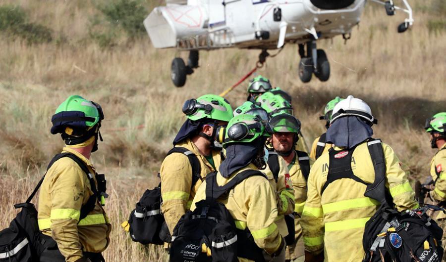 Actualidad Actualidad La Dirección de Extinción del Plan Infoca da por controlado el incendio de Sierra Bermeja