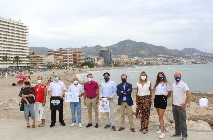 Fuengirola Fuengirola El Ayuntamiento de Fuengirola organiza una acción medioambiental en la playa de San Francisco por el Día Internacional de Limpieza de Costas