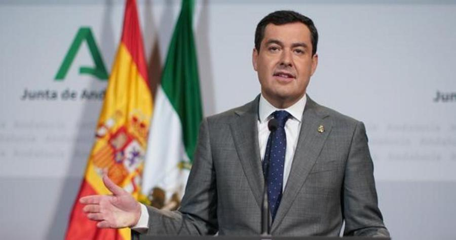 """Actualidad Actualidad Moreno pide seguir siendo """"prudentes"""" para """"convivir"""" con la pandemia aunque Andalucía vaya """"en buena dirección"""""""