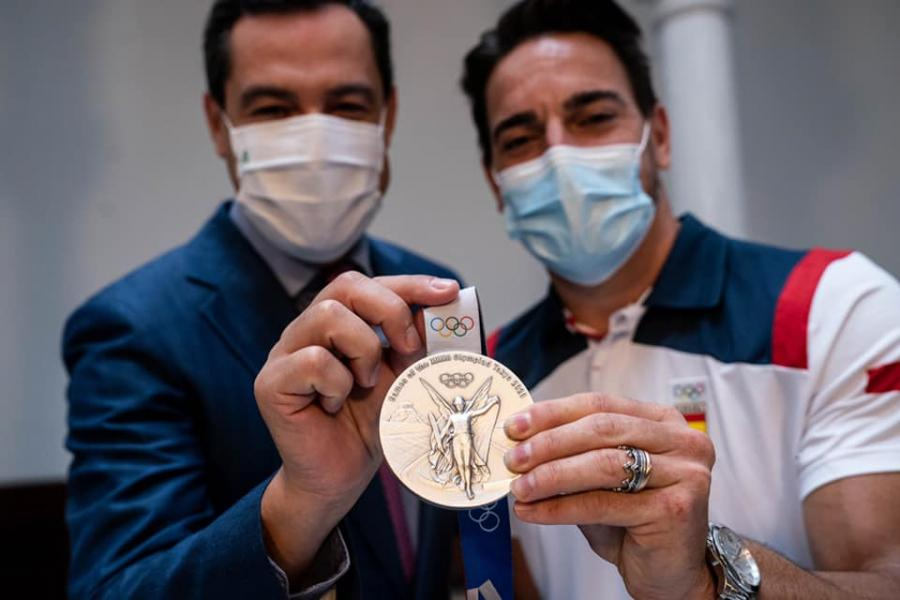Actualidad Actualidad Moreno valora la superación y excelencia de los deportistas andaluces en los Juegos Olímpicos y Paralímpicos de Tokio 2020