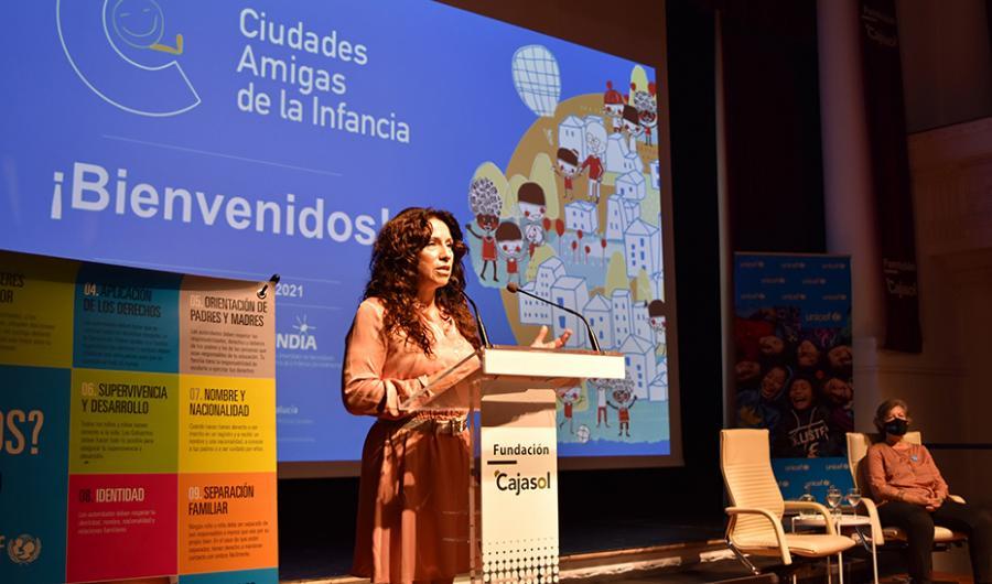 Actualidad Actualidad Rocío Ruiz destaca que la Ley de Infancia potenciará el protagonismo de los menores en las políticas públicas