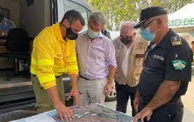 Estepona Estepona El Ayuntamiento de Estepona pedirá la declaración de zona catastrófica en Sierra Bermeja e inicia acciones para la recuperación de este entorno natural