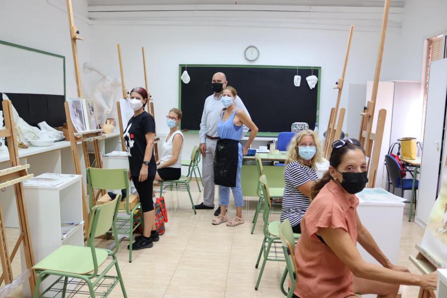 Mijas Mijas La Universidad Popular de Mijas arranca el curso escolar con cerca de 2.700 matriculados
