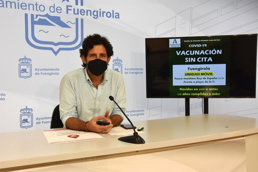 Fuengirola Fuengirola Fuengirola acogerá el viernes una unidad móvil para vacunar contra la COVID-19 a personas de más de doce años