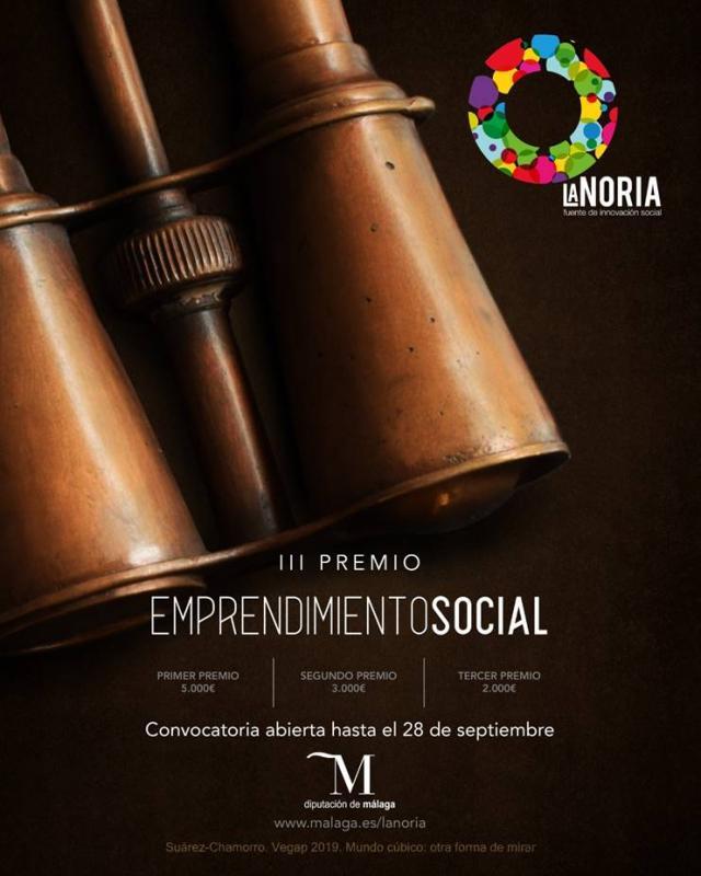 Malaga Malaga Abierto hasta el 28 de septiembre el plazo para participar en el tercer Premio de Emprendimiento Social La Noria