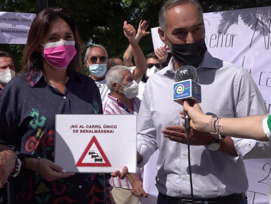 Benalmadena Benalmadena El PP asistirá a la reunión organizada por los vecinos para recuperar los carriles en Benalmádena Costa