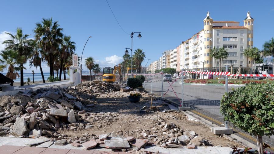 Estepona Estepona El Ayuntamiento inicia las obras del proyecto urbano que abrirá Estepona al mar con la creación de un balcón al Mediterráneo