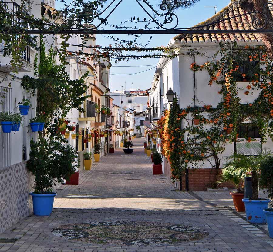 El proyecto jard n de la costa del sol suma ya 87 actuaciones con la remodelaci n de la calle - El jardin del sol ...