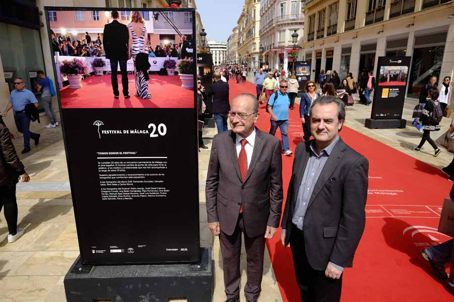 Malaga Malaga La exposición 'Festival de Málaga 20' inaugura la 20 edición del certamen