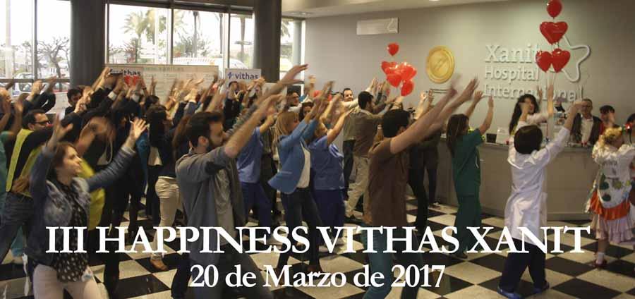 "Benalmadena Benalmadena Vithas Xanit celebró hoy el ""III Happiness Vithas Xanit"" con abrazos, sonrisas, música y talleres de yoga"