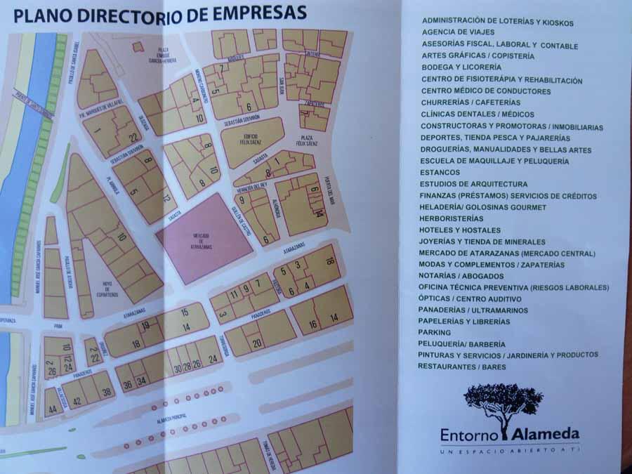 Malaga Malaga El Ayuntamiento de Málaga distribuye 25.000 flyers del entorno Alameda para visualizar cómo quedarán las obras del metro