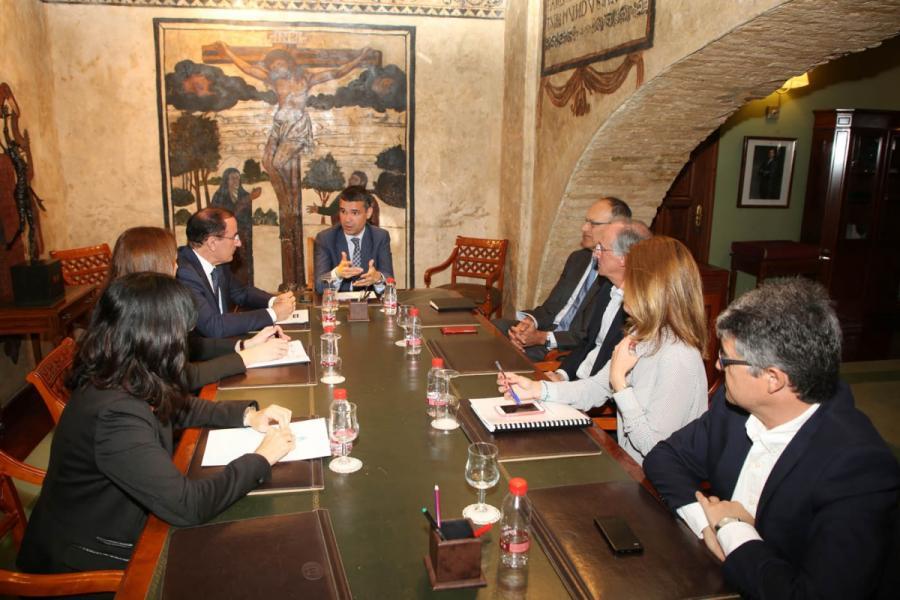 Marbella Marbella Alcalde de Marbella y el sector empresarial abordan la hoja de ruta municipal en materia urbanística