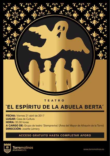 Torremolinos Torremolinos La obra de teatro 'El espíritu de la Abuela Berta' aterriza en Torremolinos