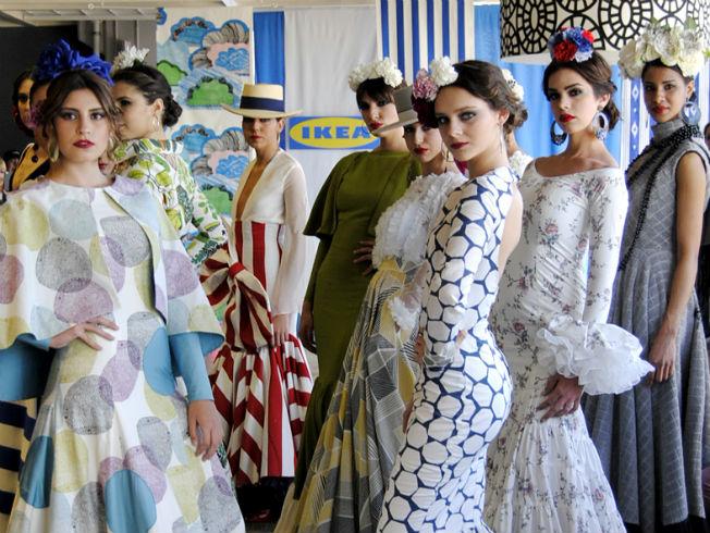 Moda Moda Quinta edición del certamen de Moda Flamenca en Ikea Sevilla