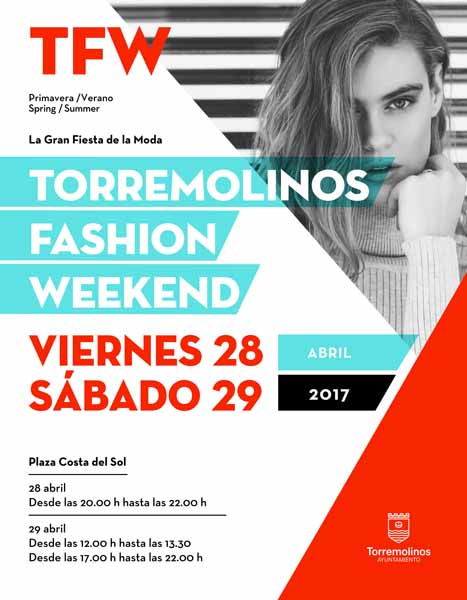 La plaza Costa del Sol se convertirá en una pasarela de moda local de manos del Torremolinos Fashion Weekend
