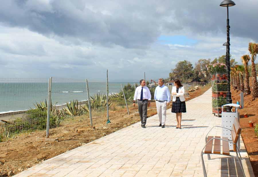 Estepona Estepona El corredor litoral conecta ya 14 kilómetros de franja costera