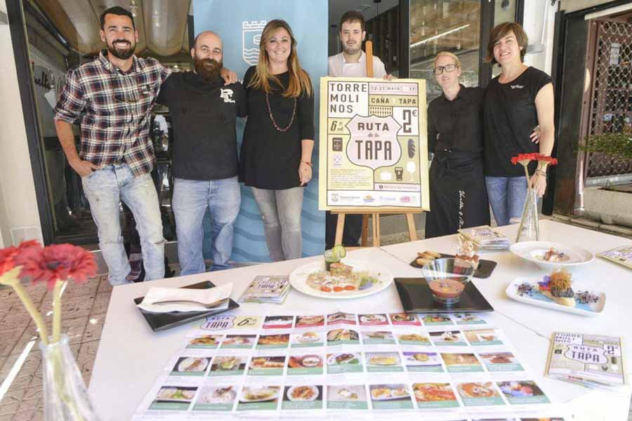 Torremolinos Torremolinos Torremolinos da comienzo a la sexta edición de la Ruta de la Tapa
