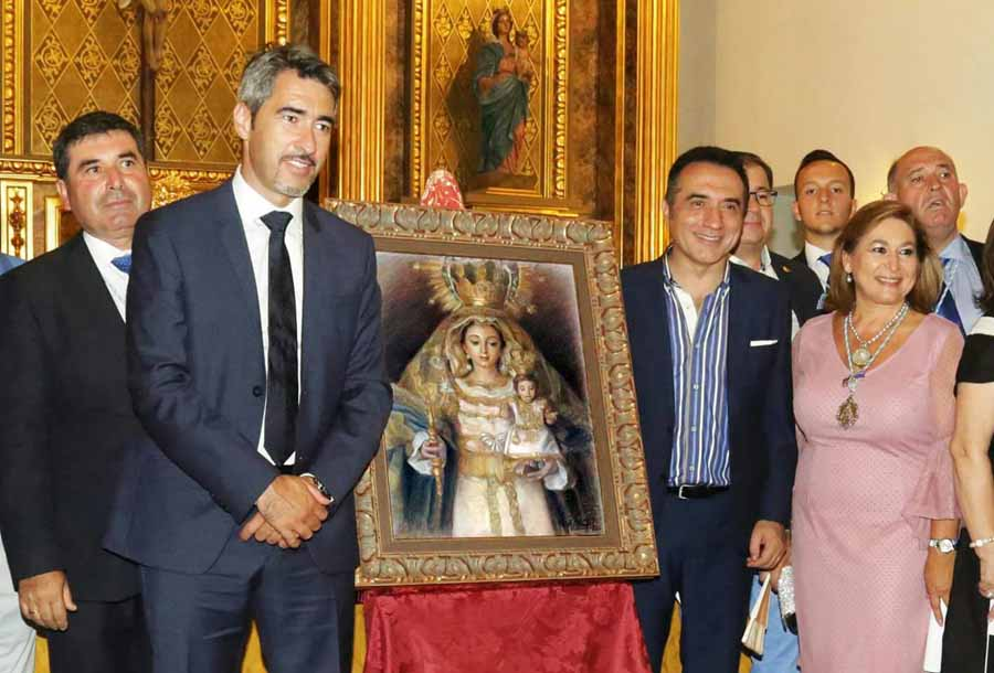 Benalmadena Benalmadena El pintor Antonio Montiel, autor del cartel del LV aniversario de la patrona de Benalmádena