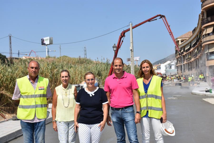 Fuengirola Fuengirola El Ayuntamiento tiene en marcha actualmente obras de infraestructuras en la ciudad que superan el millón y medio de euros de inversión