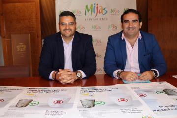 """Mancomunidad Mancomunidad Acosol lleva la """"campaña de concienciación del uso responsable de las toallitas húmedas"""" a Mijas"""