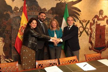 """Marbella Marbella La alcaldesa destaca la colaboración entre administraciones para que la Copa Davis en Marbella sea """"un nuevo éxito"""""""
