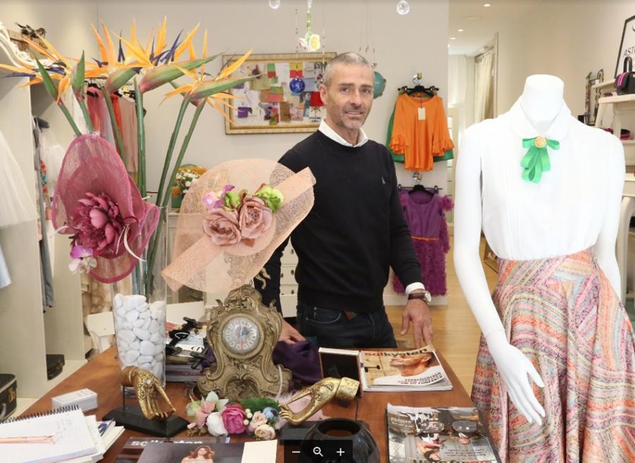 Fuengirola Fuengirola El diseñador Agustín Torralbo abre tienda en Fuengirola