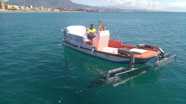Mancomunidad Mancomunidad Acosol refuerza el servicio de embarcaciones para el control de calidad de las aguas en el litoral durante los meses de verano con 13 embarcaciones