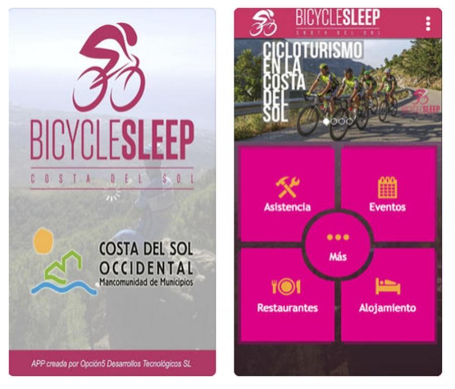 Actualidad Actualidad Bicycle Sleep, la app imprescindible para ciclistas en la Costa del Sol