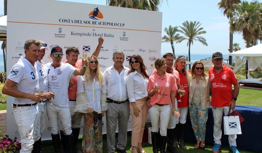 Estepona Estepona Estepona acoge con éxito la primera edición del torneo 'Costa del Sol Beach Polo Cup'